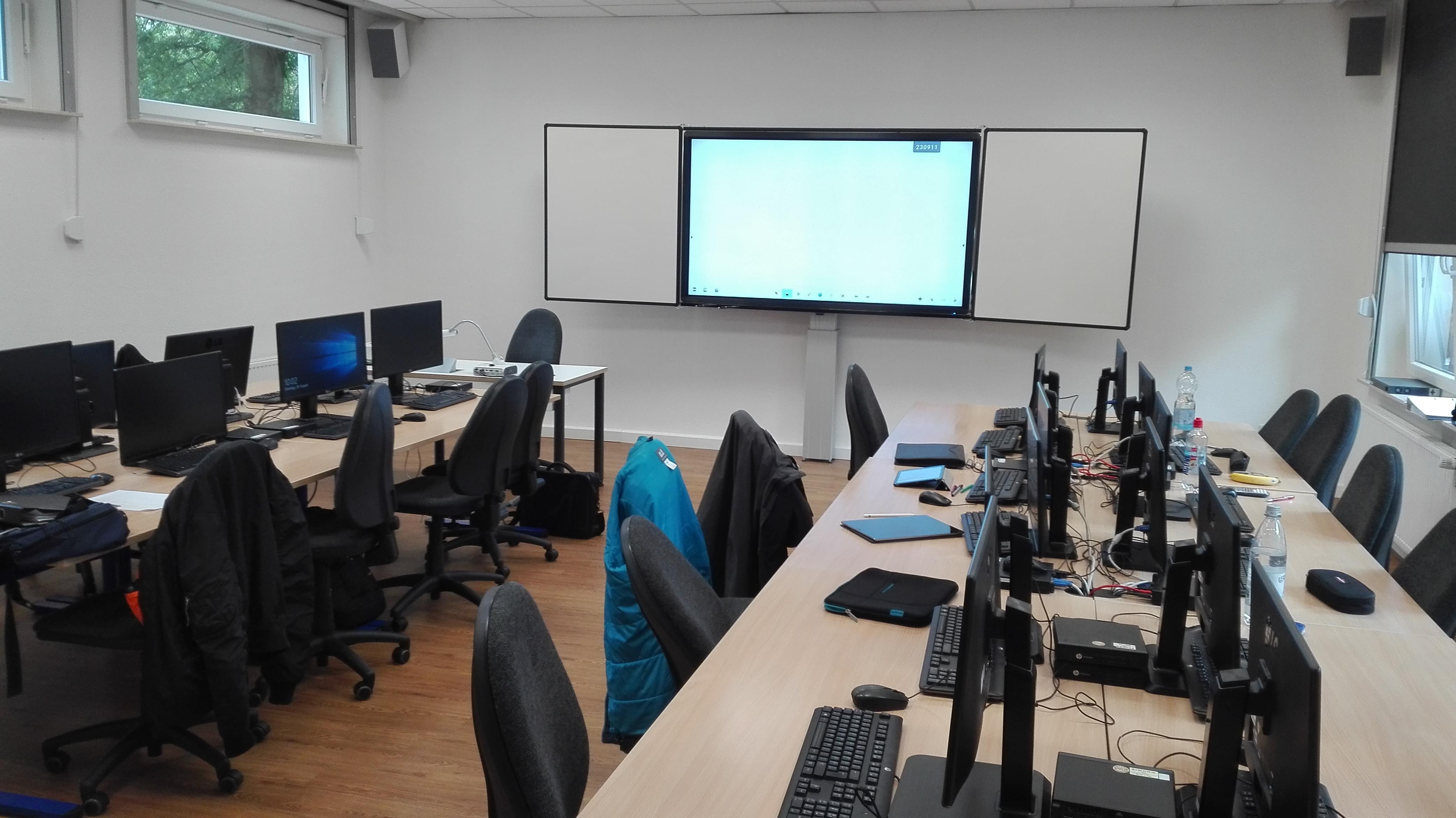 Klassenraum unseres IT-Azubis im GenoKolleg Münster
