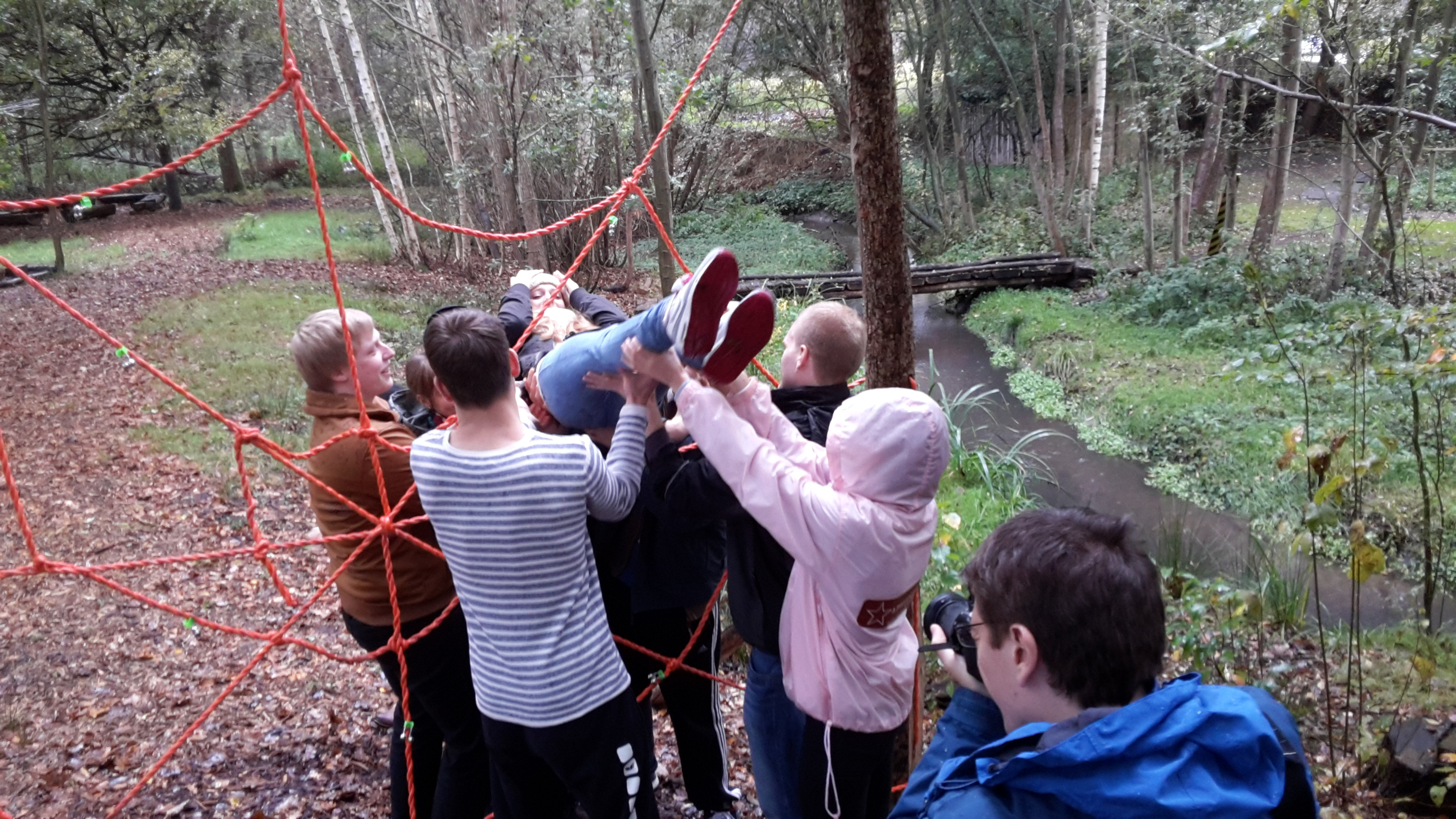 NABU Umweltpyramide - Teamwork