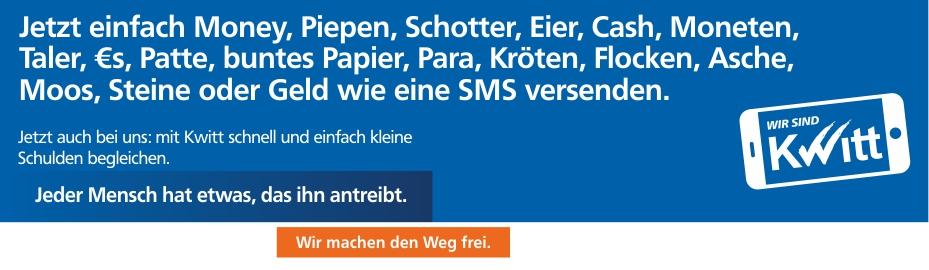 Teilnahmebedingungen Gewinnspiel Kwitt Volksbank Eg Osterholz